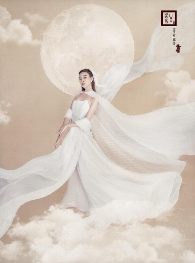 Phương Oanh hóa chị Hằng xinh đẹp như thần tiên tỷ tỷ - Ảnh 3.