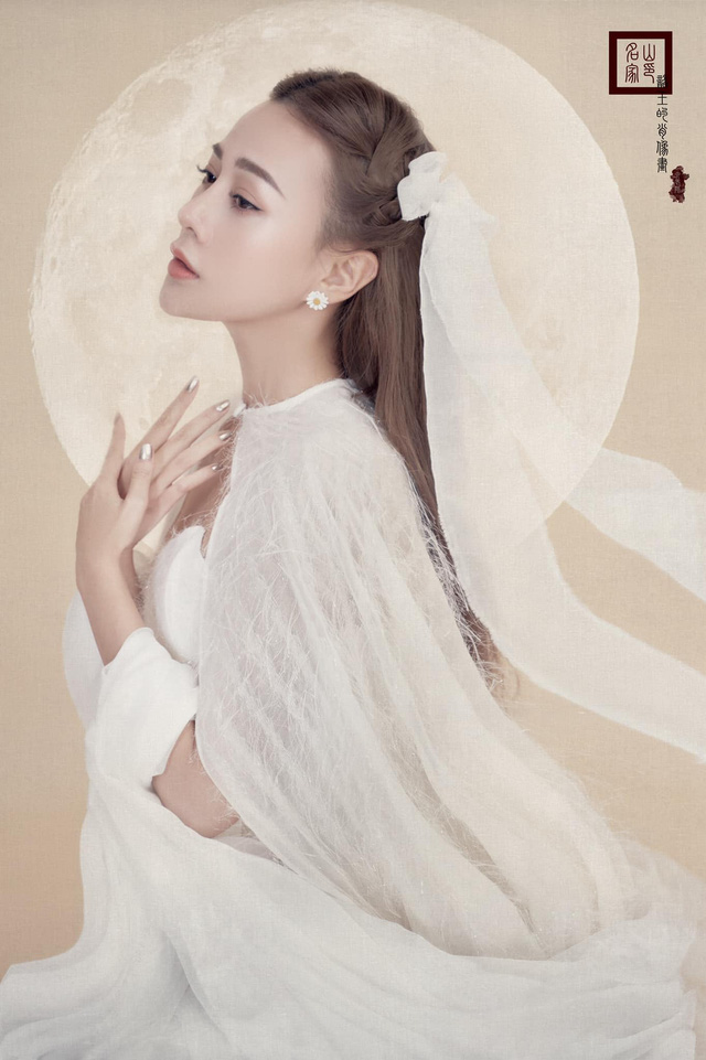Phương Oanh hóa chị Hằng xinh đẹp như thần tiên tỷ tỷ - Ảnh 5.
