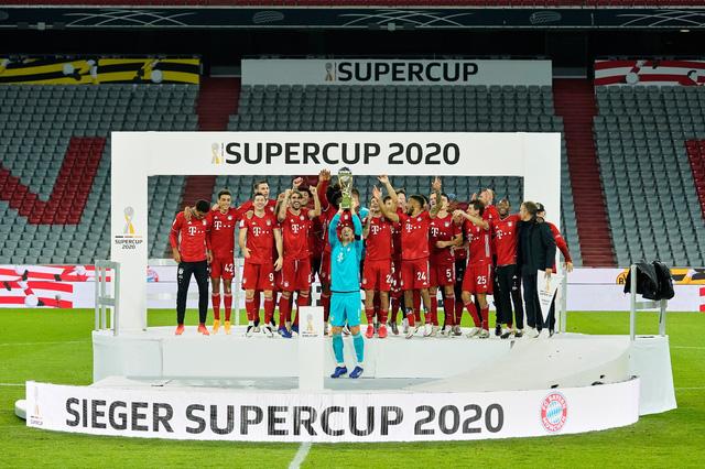 Hạ Dortmund, Bayern Munich giành siêu cúp Đức lần thứ 8 - Ảnh 2.