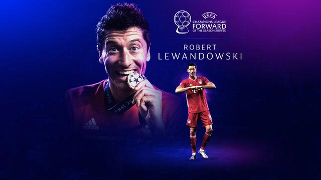 Robert Lewandowski giành giải cầu thủ xuất sắc nhất năm của UEFA - Ảnh 2.