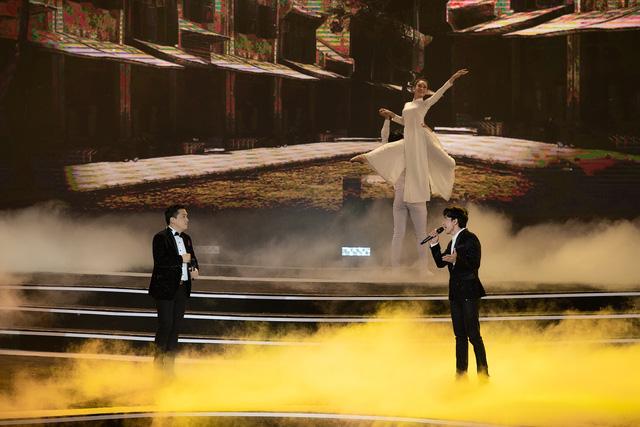Đan Trường - Lam Trường song ca loạt hit tại Bán kết Hoa hậu Việt Nam 2020 - Ảnh 5.