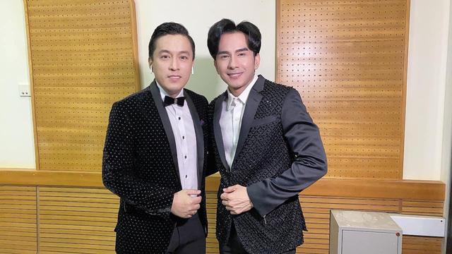 Đan Trường - Lam Trường song ca loạt hit tại Bán kết Hoa hậu Việt Nam 2020 - Ảnh 11.