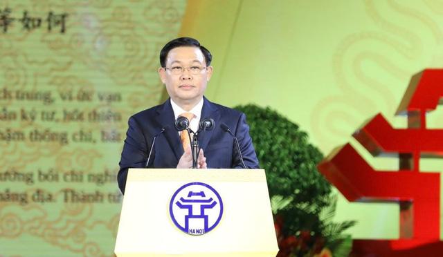 Long trọng kỷ niệm 1010 năm Thăng Long - Hà Nội: Thủ đô ngàn năm văn hiến, anh hùng của cả nước - Ảnh 1.