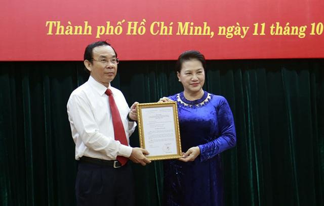 Ông Nguyễn Văn Nên được giới thiệu để bầu làm Bí thư Thành ủy TP.HCM - Ảnh 1.