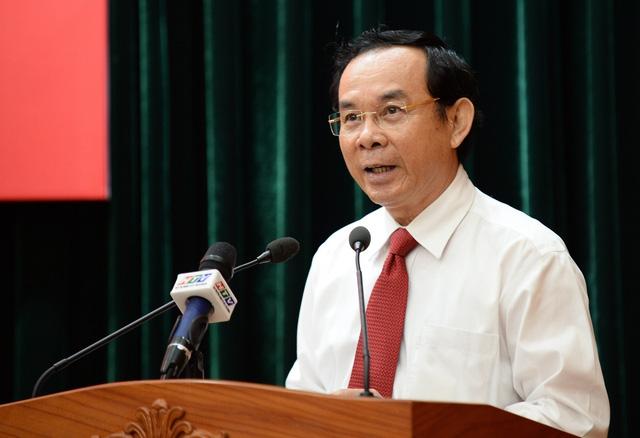 Ông Nguyễn Văn Nên được giới thiệu để bầu làm Bí thư Thành ủy TP.HCM - Ảnh 2.