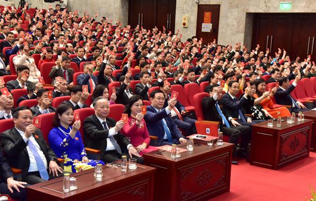 Hôm nay (12/10), khai mạc Đại hội Đảng bộ TP Hà Nội nhiệm kỳ 2020 - 2025 - Ảnh 3.
