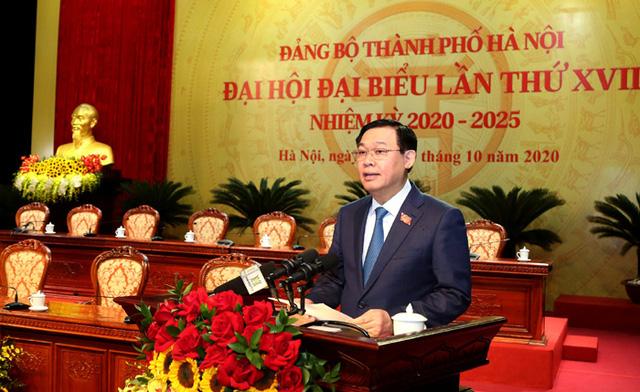 Hôm nay (12/10), khai mạc Đại hội Đảng bộ TP Hà Nội nhiệm kỳ 2020 - 2025 - Ảnh 2.