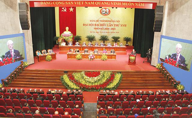 7 vấn đề Tổng Bí thư, Chủ tịch nước lưu ý tại Đại hội Đảng bộ Thành phố Hà Nội - Ảnh 2.