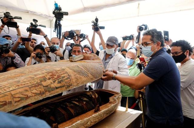 Phát hiện 59 quan tài 2600 tuổi ở Ai Cập - Ảnh 1.