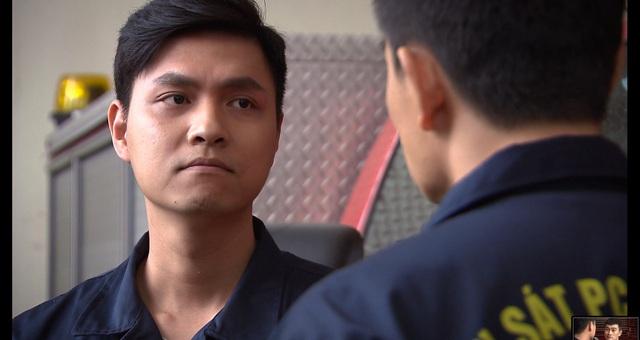 Lửa ấm - Tập 11: Hoàng (Mạnh Quân) bỗng dưng trở thành hotboy lính cứu hỏa - Ảnh 8.