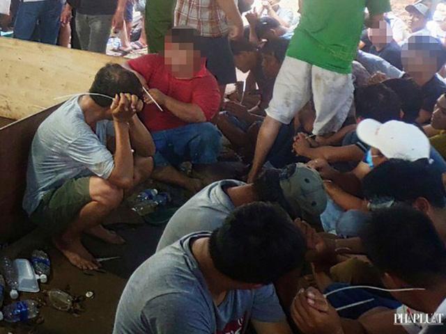 Khởi tố, bắt tạm giam 43 người trong vụ sới đá gà khủng ở TP.HCM - Ảnh 1.