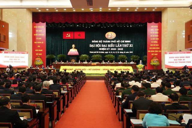 Thủ tướng Nguyễn Xuân Phúc dự Đại hội Đảng bộ TP.HCM nhiệm kỳ 2020-2025 - Ảnh 1.