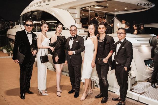 Chương Tailor ra mắt bộ suit với sợi vàng 24K trong dạ tiệc quy tụ nhiều sao Việt - Ảnh 2.