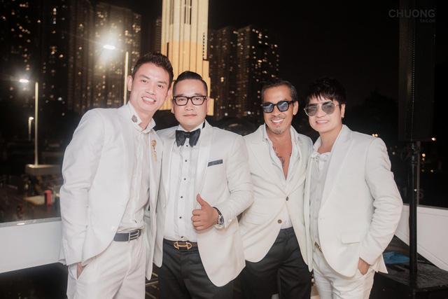 Chương Tailor ra mắt bộ suit với sợi vàng 24K trong dạ tiệc quy tụ nhiều sao Việt - Ảnh 4.