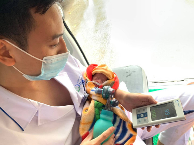 Hỗ trợ từ xa cấp cứu sản phụ sinh con non tháng tại huyện đảo Cô Tô - Ảnh 2.