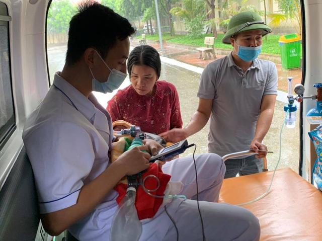 Hỗ trợ từ xa cấp cứu sản phụ sinh con non tháng tại huyện đảo Cô Tô - Ảnh 1.