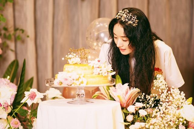 Triệu Lệ Dĩnh khoe ảnh sinh nhật như công chúa - Ảnh 1.