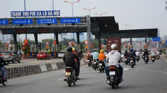 Trạm BOT ở Xa lộ Hà Nội sẽ thu phí từ tháng 11/2020 - Ảnh 2.