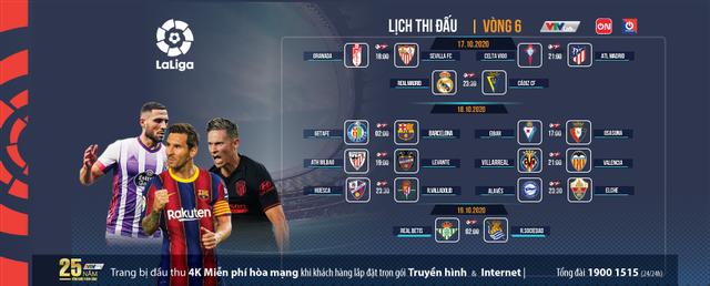 La Liga và Bundesliga cuối tuần: Những trận cầu hấp dẫn trên VTVcab - ảnh 1