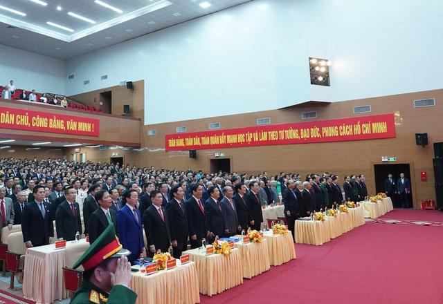 Thủ tướng dự khai mạc Đại hội đại biểu Đảng bộ tỉnh Nghệ An - Ảnh 4.