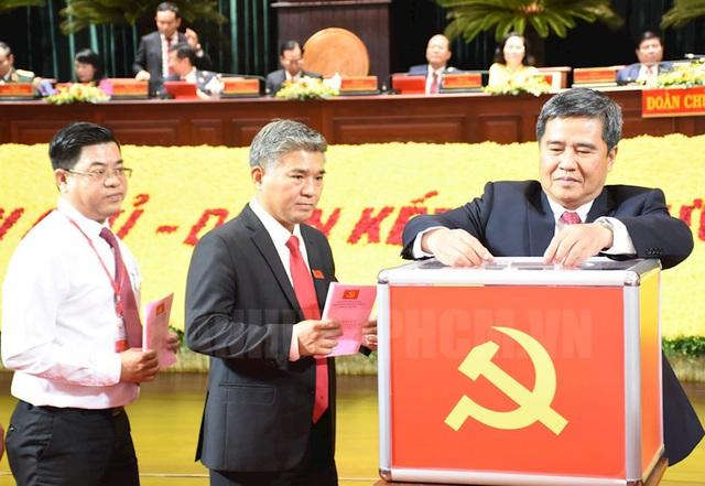 Tiến hành bầu Ban Chấp hành Đảng bộ TP.HCM khóa XI nhiệm kỳ 2020 - 2025 - Ảnh 1.