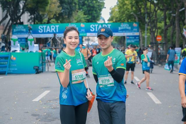MC Mai Ngọc chạy thi cùng Xuân Nghị, Thanh Sơn - Ảnh 3.