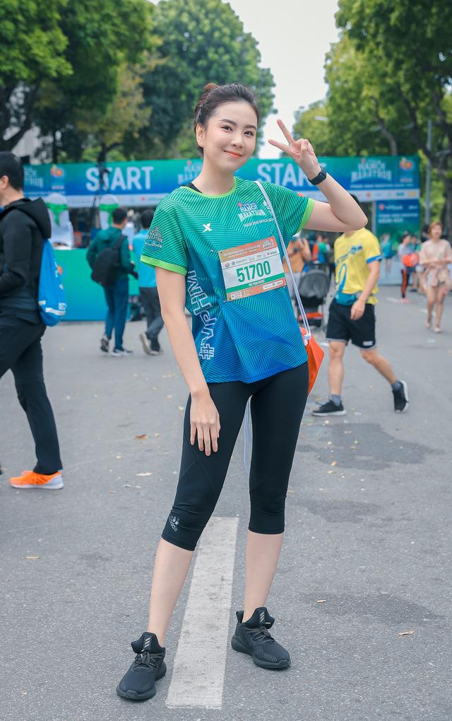 MC Mai Ngọc chạy thi cùng Xuân Nghị, Thanh Sơn - Ảnh 2.