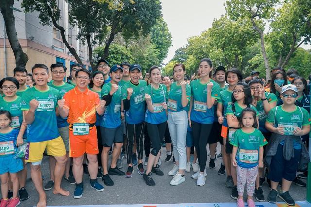 MC Mai Ngọc chạy thi cùng Xuân Nghị, Thanh Sơn - Ảnh 13.
