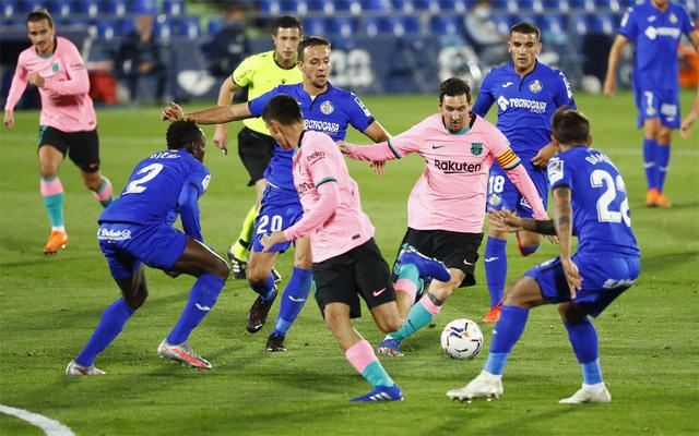 Getafe 1-0 Barcelona: Thất bại bất ngờ! - Ảnh 2.