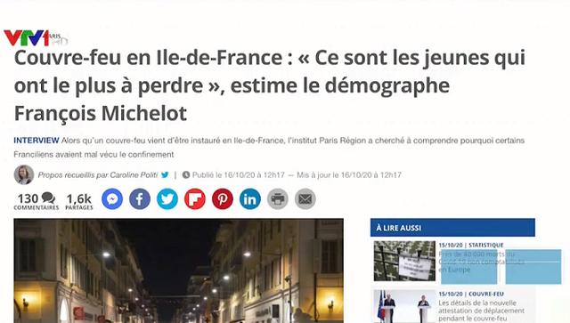 Lệnh giới nghiêm chống dịch COVID-19 - Biện pháp ít tổn thất cho nền kinh tế Pháp - Ảnh 1.
