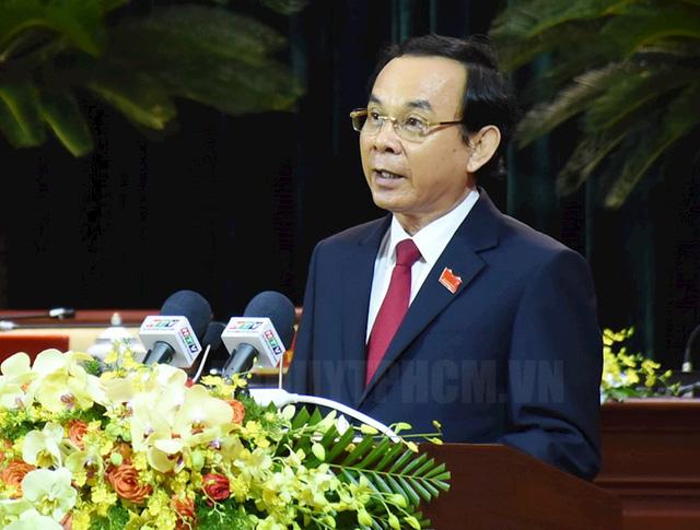 Ra mắt Ban Chấp hành Đảng bộ TP.HCM khóa XI, nhiệm kỳ 2020-2025 - Ảnh 2.