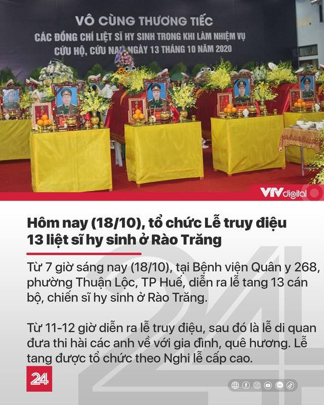 Tin nóng đầu ngày (18/10): Lũ ở Quảng Trị lên cao lịch sử, nhiều chiến sĩ bị vùi lấp vì sạt lở - Ảnh 5.
