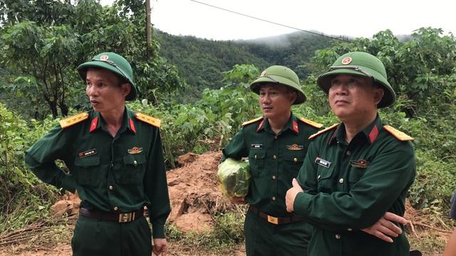 Cận cảnh hiện trường vụ sạt lở nghiêm trọng tại Quảng Trị làm vùi lấp 22 cán bộ, chiến sĩ - ảnh 6