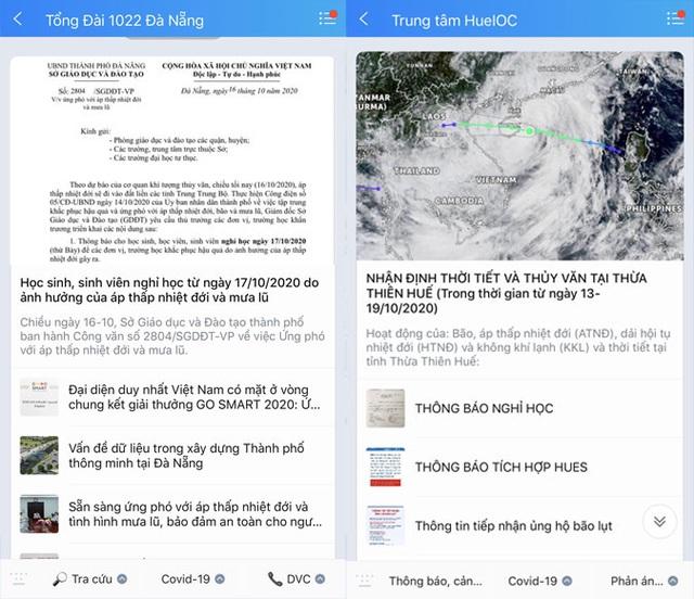 Cập nhật thông tin khẩn về tình hình mưa lũ từ Tổng cục Phòng chống thiên tai trên Zalo - Ảnh 3.