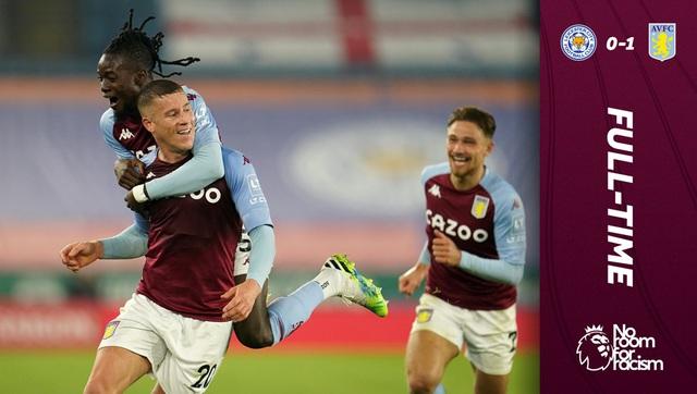 Thắng tối thiểu Leicester City, Aston Villa tiếp tục bay cao ở Ngoại hạng Anh - Ảnh 4.