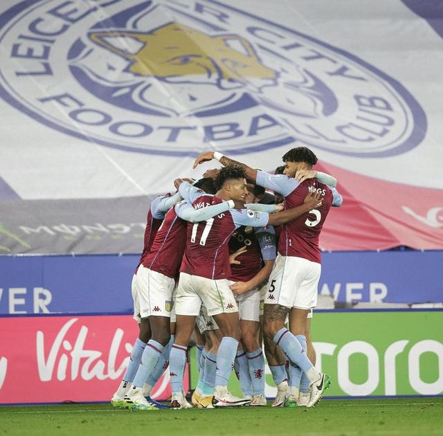 Thắng tối thiểu Leicester City, Aston Villa tiếp tục bay cao ở Ngoại hạng Anh - Ảnh 3.