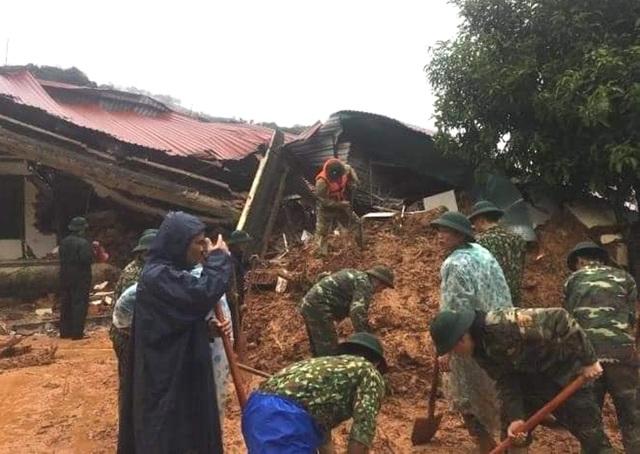 40 giờ khẩn trương tìm kiếm 22 nạn nhân sạt lở đất ở Hướng Hóa - Quảng Trị - Ảnh 10.
