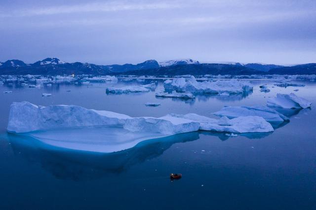 Băng tan kỷ lục tại Greenland khiến nước biển dâng cao nhất trong 12.000 năm qua - ảnh 2