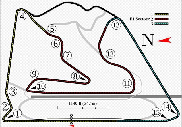 F1: GP Bahrain sẽ thay đổi bố cục trường đua - Ảnh 1.