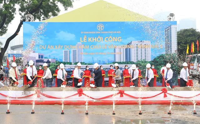 Hôm nay (2/10) khởi công hầm chui Lê Văn Lương - Vành đai 3 - Ảnh 4.