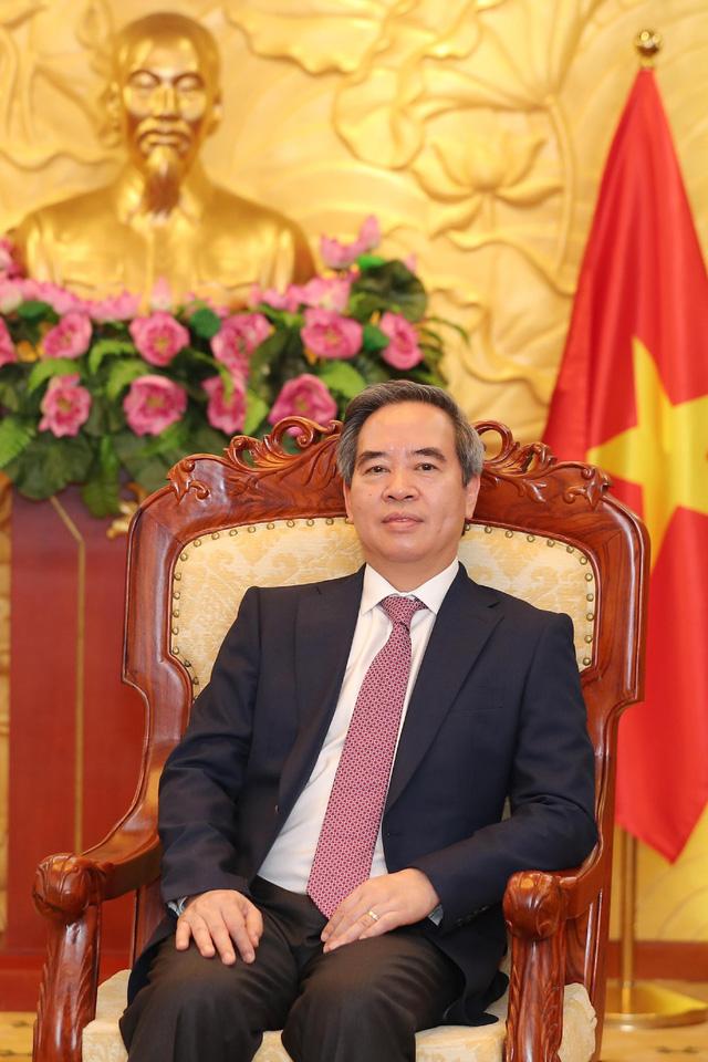 Trưởng Ban Kinh tế Trung ương Nguyễn Văn Bình: Kinh tế Việt Nam phụ thuộc rất nhiều vào giá trị toàn cầu - Ảnh 1.