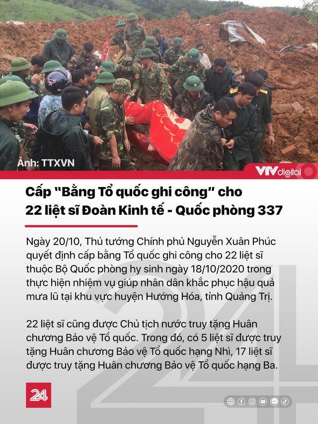 Tin nóng đầu ngày 21/10: Miền Trung chưa hết mưa, bão số 8 mạnh lên với hướng đi phức tạp - Ảnh 1.