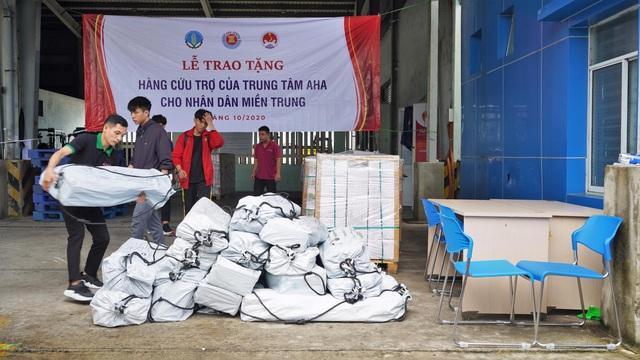 Trung tâm điều phối ASEAN viện trợ bộ sửa chữa nhà cửa, bộ nhà bếp đến Huế và Quảng Trị - Ảnh 2.