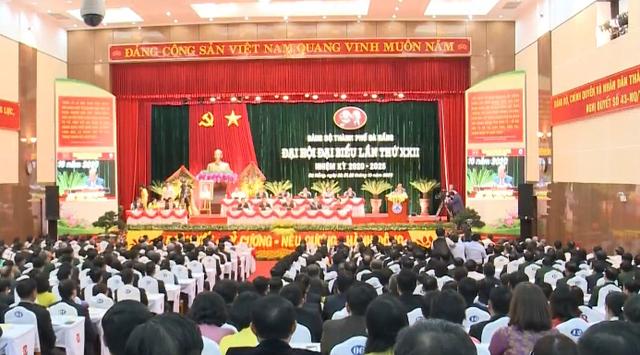 Ninh Bình, Đà Nẵng, Quảng Ngãi khai mạc Đại hội Đảng bộ - Ảnh 1.