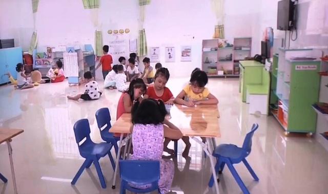 Nhà trường chủ động phòng chống tay chân miệng cho trẻ - Ảnh 1.