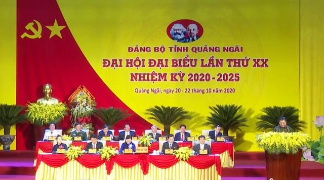 Ninh Bình, Đà Nẵng, Quảng Ngãi khai mạc Đại hội Đảng bộ - Ảnh 2.