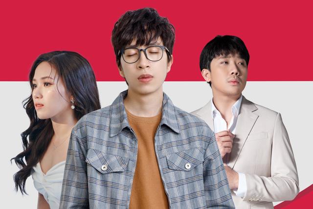 Kết hợp cùng Thùy Chi, Trấn Thành lần đầu khoe giọng hát trong MV đầu tay - Ảnh 1.
