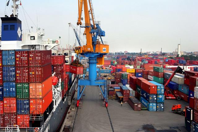 Bất chấp COVID-19, hàng hóa container qua cảng biển vẫn tăng mạnh - Ảnh 1.