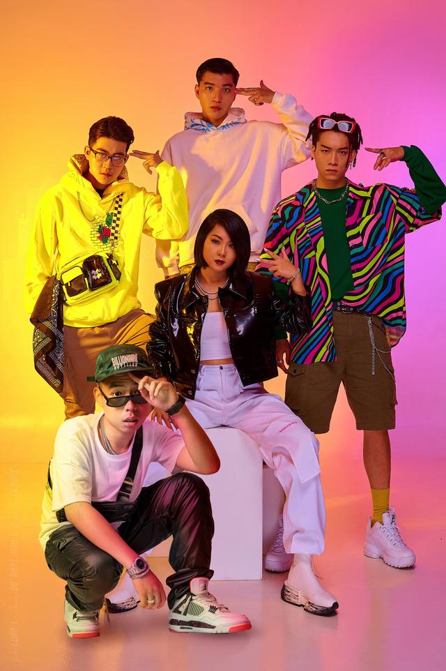 Top 10 King of Rap: Pháo lột xác đọ sắc á hậu Lona, Tuimi cạnh tranh với ICD - DABLO - RichChoi - Ảnh 1.