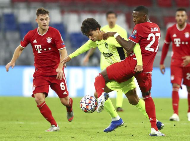 Thua đậm Bayern, HLV Simeone vẫn lạc quan - Ảnh 1.